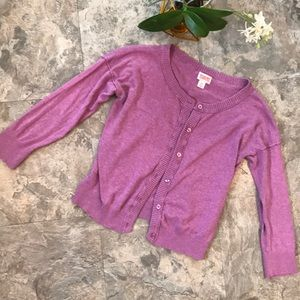 Sweet purple/pink cardigan